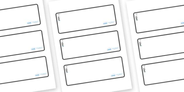 Heron Themed Editable Drawer-Peg-Name Labels (Blank) - Themed Classroom Label Templates, Resource Labels, Name Labels, Editable Labels, Drawer Labels, Coat Peg Labels, Peg Label, KS1 Labels, Foundation Labels, Foundation Stage Labels, Teaching Labels