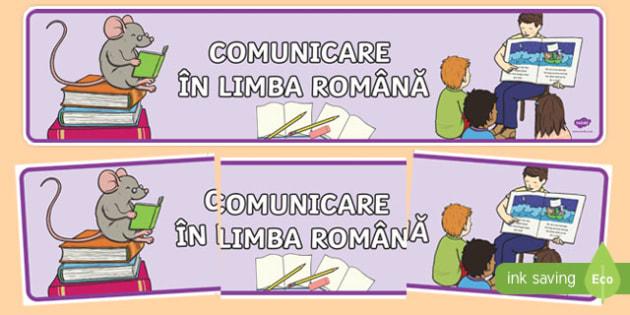 Comunicare în limba