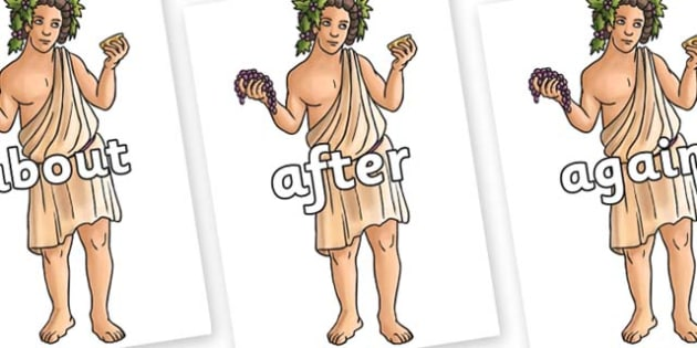 KS1 Keywords on Dionysus - KS1, CLL, Communication language and literacy, Display, Key words, high frequency words, foundation stage literacy, DfES Letters and Sounds, Letters and Sounds, spelling