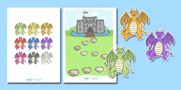 Dragon Reward Chart - Reward Chart, education, home school, child development, children activities, free, kids, chart for free