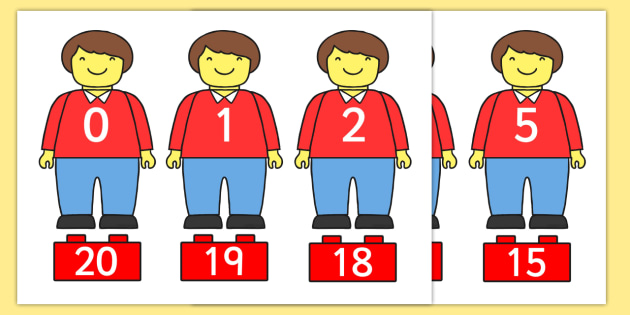 Toy Figure Number Bonds Matching Activity to 20 - toys, numeracy