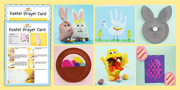 Easter Craft Activity Pack - easter, craft, activity, craft pack