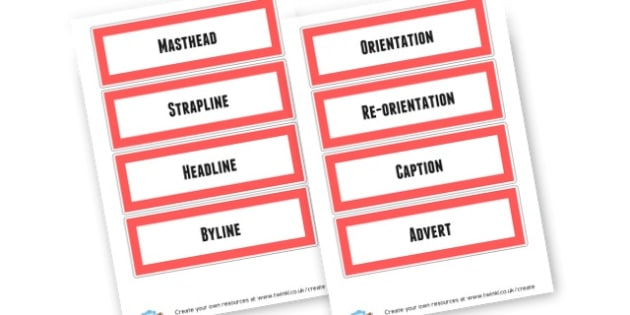 Feature of a Newspaper - KS2 Newspaper Templates & Reports Primary Resources, Newspapers, Articles, KS2