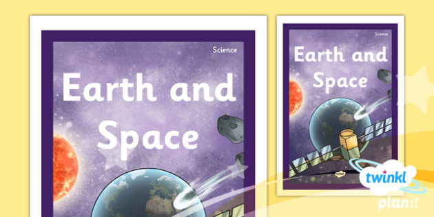 PlanIt - Science Year 5 - Earth and Space Unit Book Cover - planit, science, year 5, book cover, earth and space