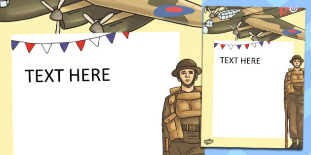 VE Day Editable Note - ve day, victorious, europe, note, edit