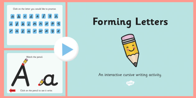 Upper Case and Lower Case Letter Formation PowerPoint - handwriting, pencil control, fine, motor, skills, control, handwrite, hand writing, writing, early years, ks1, key stage 1, year 1, y1, year 2, y2, ppt, presentation, animated, animation, move,