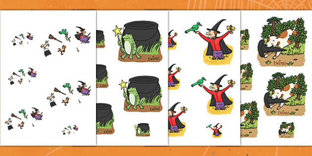 Size Ordering to Support Teaching on Room on the Broom - room on the broom, size ordering, size, ordering, size and shape, shapes, size order, order worksheet, orders