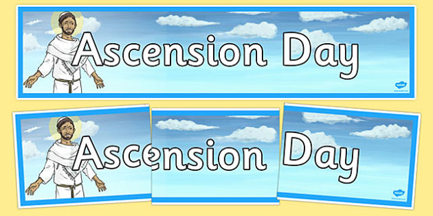 Ascension Day Display Banner