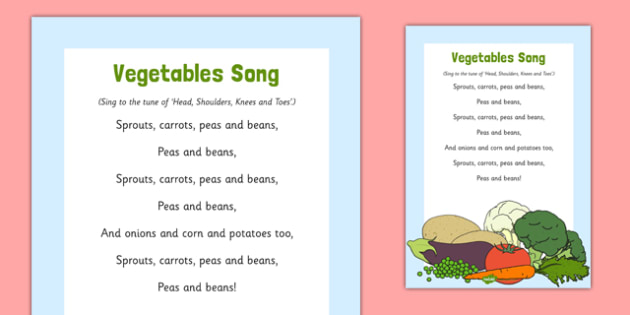 Vegetables Song