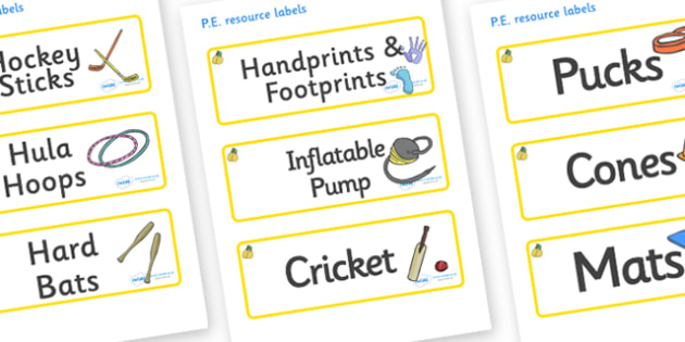 Marula Themed Editable PE Resource Labels - Themed PE label, PE equipment, PE, physical education, PE cupboard, PE, physical development, quoits, cones, bats, balls, Resource Label, Editable Labels, KS1 Labels, Foundation Labels, Foundation Stage Lab