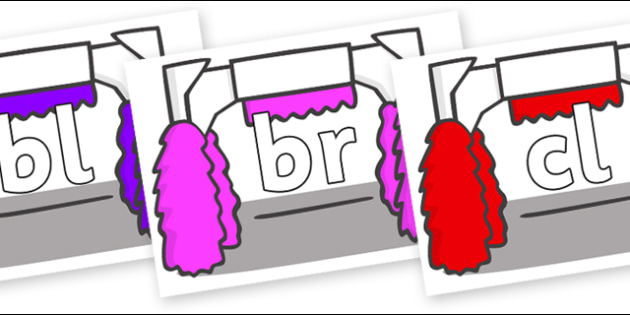 Initial Letter Blends on Car Wash - Initial Letters, initial letter, letter blend, letter blends, consonant, consonants, digraph, trigraph, literacy, alphabet, letters, foundation stage literacy