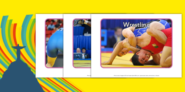 The Olympics Wrestling Display Photos - wrestling, Olympics, Olympic Games, sports, Olympic, London, display, photo, photos, poster, 2012, activity, Olympic torch, medal, Olympic Rings, mascots, flame, compete, events, tennis, athlete, swimming