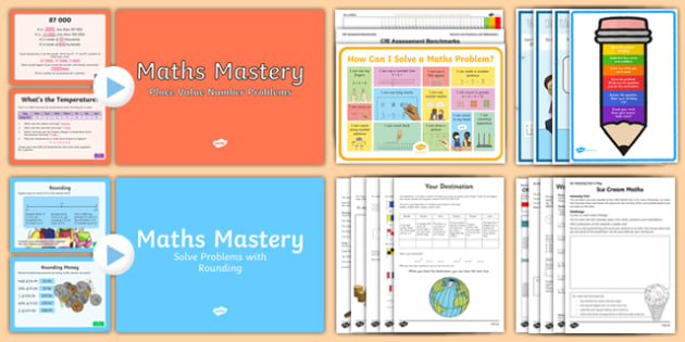 CfE Numeracy and Mathematics – Second Level – Problem Solving Resource Pack-Australia
