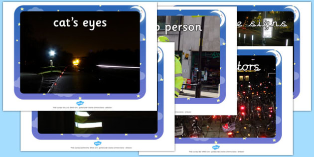 Safety Reflectors and Reflective Clothing Photographs - safety