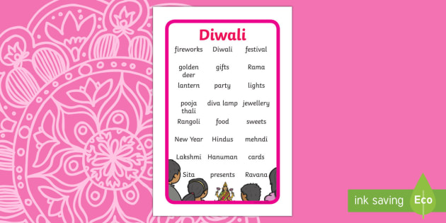 Ikea Tolsby Diwali Topic Words Prompt Frame