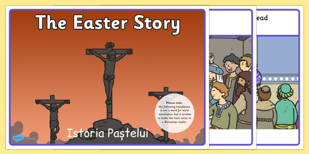 The Easter Story Romanian Translation - romanian, story, easter
