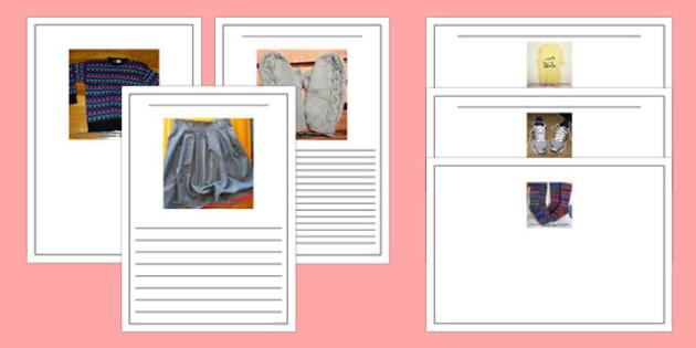 Photo Clothes Writing Frames - photo, clothes, writing frames, writing, frames