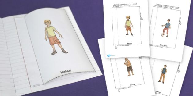 Kensukes Kingdom Character Description Interactive Write Template