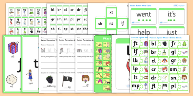 Teaching Assistant Phase 4 Phonics Resource Pack - phase 4, phonics