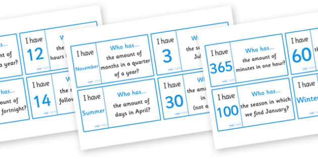 Days And Months Loop Cards Activity - days and months, months, days, name, loop cards, cards, flashcards, loop, image, activity, time