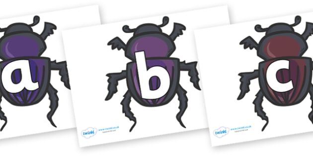 Phoneme Set on Egyptian Beetles (Scarab) - Phoneme set, phonemes, phoneme, Letters and Sounds, DfES, display, Phase 1, Phase 2, Phase 3, Phase 5, Foundation, Literacy