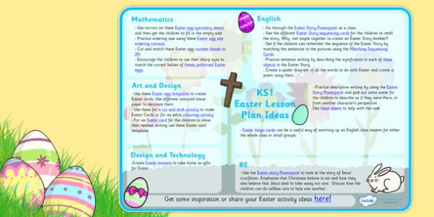 Easter Lesson Plan Ideas KS1 - easter, easter lesson plan, lesson plan, easter lesson planning, easter planning, easter lesson ideas, lesson ideas, MPT