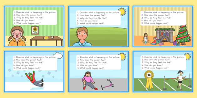 Inference Picture Cards - australia, inference, picture, cards