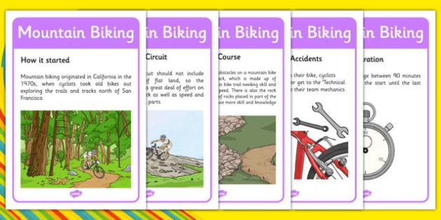 Rio 2016 Olympics Mountain Biking Display Facts - rio 2016, rio olympics, 2016 olympics, mountain biking, display facts