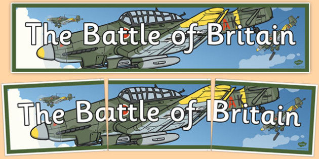 Battle of Britain Display Banner - battle of britain, display banner, display, banner, battle, britain