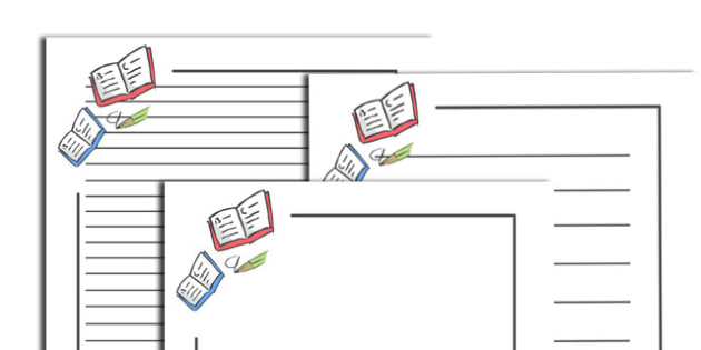 Literacy Page Borders - page border, border, frame, writing frame, page borders, literacy, english, literacy writing frames, writing template, writing aid, writing, A4 page, page edge, writing activities, lined page, lined pages
