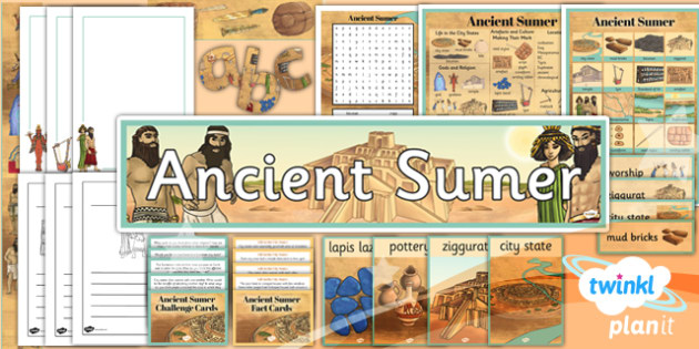 PlanIt History UKS2 Ancient Sumer Unit Additional Resources