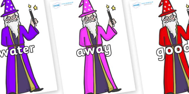 Next 200 Common Words on Wizards - Next 200 Common Words on  - DfES Letters and Sounds, Letters and Sounds, Letters and sounds words, Common words, 200 common words