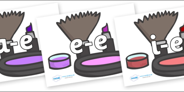 Modifying E Letters on Make Up - Modifying E, letters, modify, Phase 5, Phase five, alternative spellings for phonemes, DfES letters and Sounds