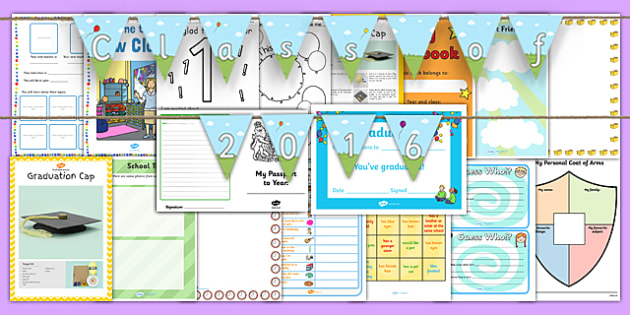 KS1 Transition Pack - ks1, transition, pack, years, moving, class