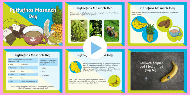 Pŵerbwynt Pythefnos Masnach Deg - Pythefnos Masnach Deg, Fair Trade fortnight, masnachu'n deg, fair trading, Affrica, Asia, De Americ