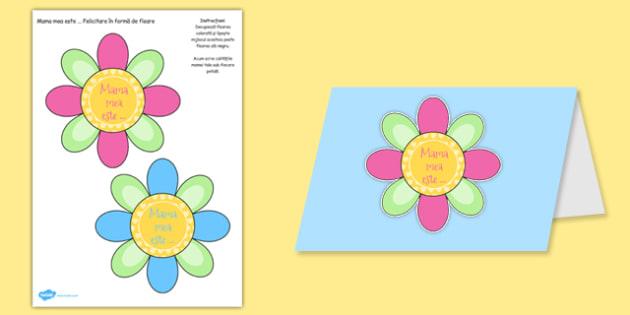 Felictare Floare de Ziua Mamei - mama, 8, martie, arte