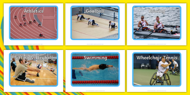 Paralympic Sports Display Photos