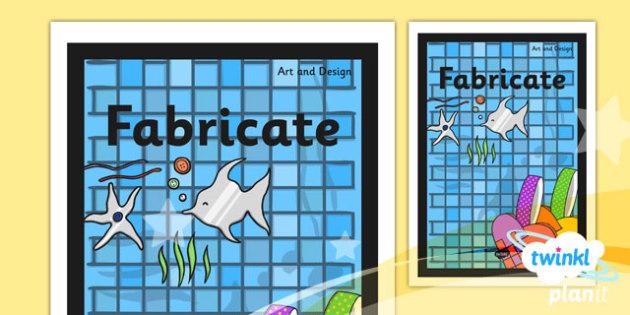PlanIt - Art KS1 - Fabricate Unit Book Cover - planit, book cover, art and design, art, ks1, fabricate