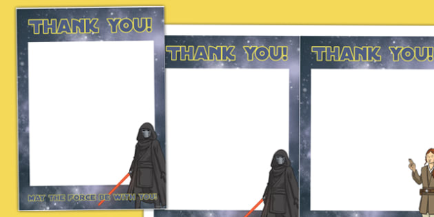 Space Wars Party Thank You Notes - space wars, star wars, thank you, notes, birthday, party