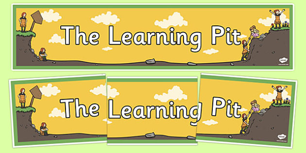 The Learning Pit Display Banner - the learning pit, display banner, display, banner