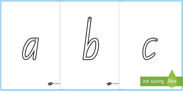 Letter Formation Worksheets A Z - formation, a-z, alphabet