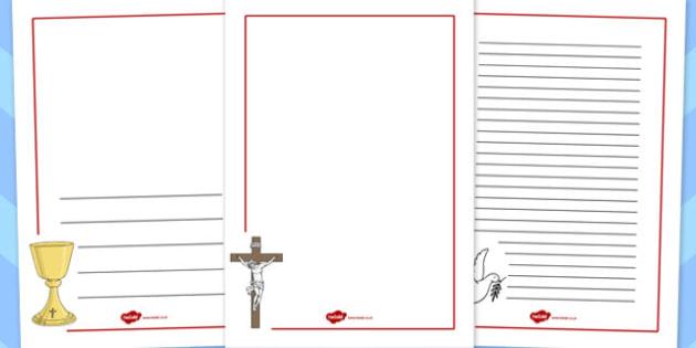Confirmation Page Borders - confirmation, page borders, borders