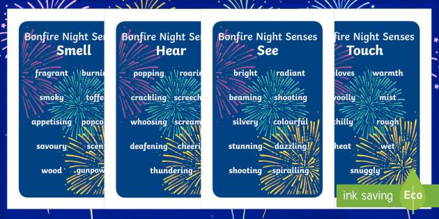 Ikea Tolsby Bonfire Night Senses Words Prompt Frame