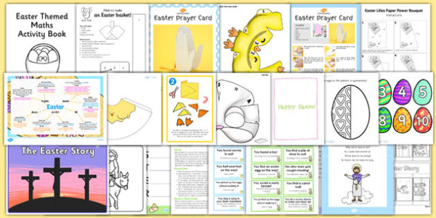 KS1 Easter Resource Pack - ks1, easter, resource, pack, celebrate