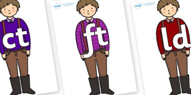 Final Letter Blends on Rapunzels Father - Final Letters, final letter, letter blend, letter blends, consonant, consonants, digraph, trigraph, literacy, alphabet, letters, foundation stage literacy