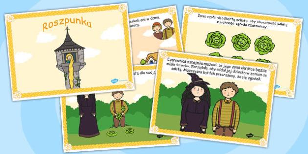 Rapunzel Story Polish - polish, rapunzel, story, traditional, tale