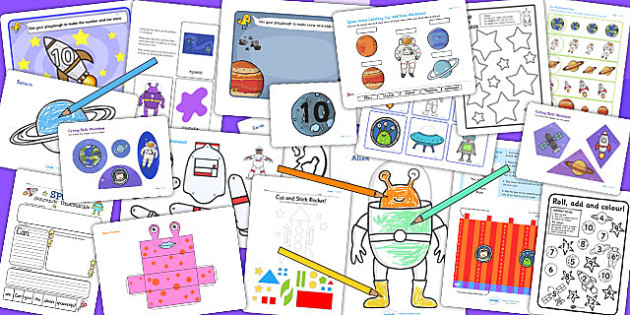 KS1 Space Activity Pack - key stage one, space games, science