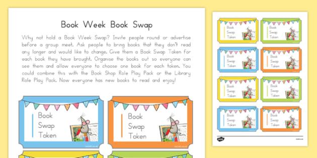 Book Week Book Swap Cut Outs-Australia