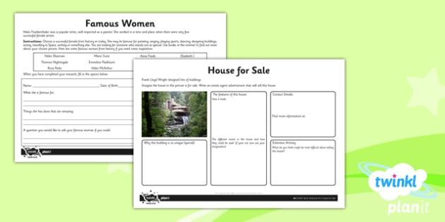 PlanIt - Art UKS2 - North American Art Unit Home Learning Tasks