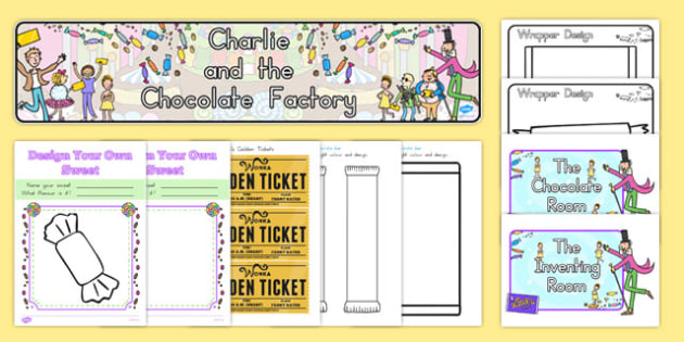 Role-Play Pack to Support Teaching on Charlie and the Chocolate Factory - australia